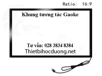 Khung tương tác 65in Gaoke