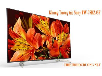 Khung Tương Tác Tivi Sony FW-75BZ35F.