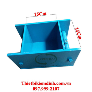 Khuôn đúc mẫu bê tông 150x150x150mm bằng thép - Khuôn đơn