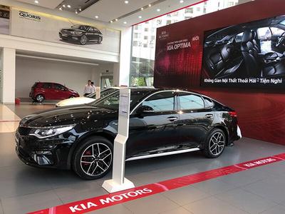KIA Optima Facelift 2.4 GT-Line 2019