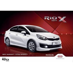Kia Rio Sedan X chính thức ra mắt tại Malaysia   Ford Thanh Hóa