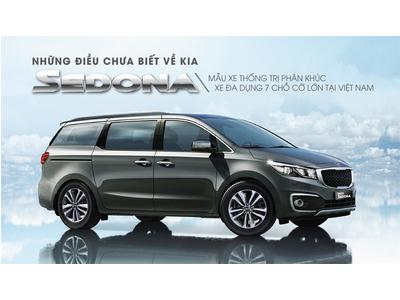 Kia Sedona – mẫu xe thống trị phân khúc xe đa dụng 7 chỗ cỡ lớn tại Việt Nam
