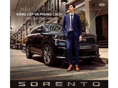 Kia Sorento (All New): Mẫu SUV 7 chỗ đẳng cấp và phong cách cho quý ông hiện đại