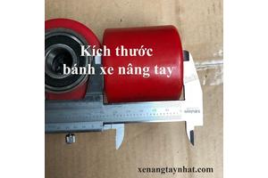 Kích thước bánh xe nâng tay và cách gọi tên- xe nâng Hoàng Minh