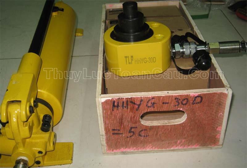 Kích thủy lực lùn mỏng 2 3 tầng 1 chiều - Ảnh thực sản phẩm
