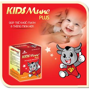 Kidsmune Plus giúp trẻ ăn ngon miệng, hấp thu tối đa dinh dưỡng, phát triển chiều cao