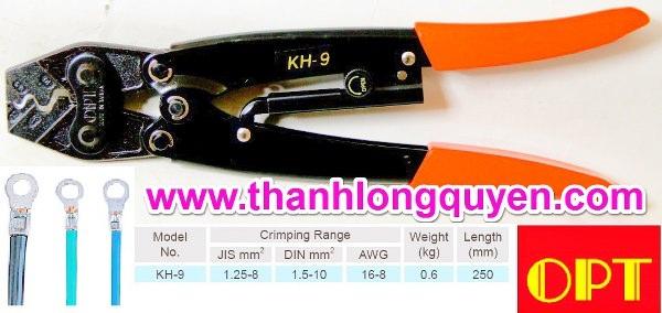 Kìm bấm cos ct-8 kh-9 tcp-10088 10mm2