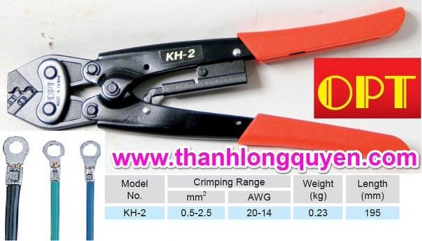 Kìm bấm cos kh-2 tcp-10087 2.5mm2