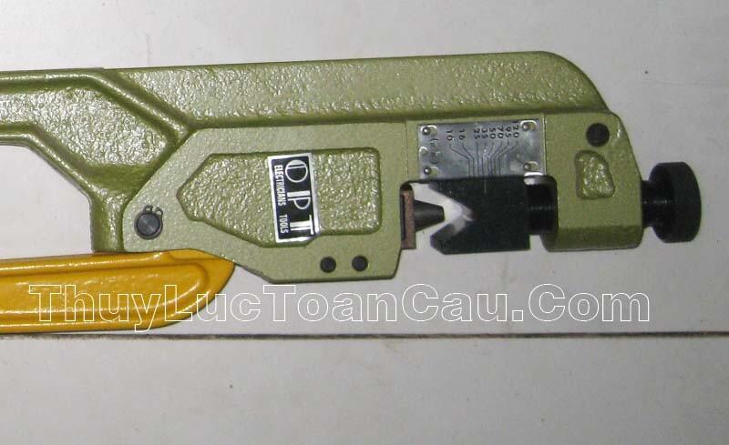 Kìm bấm đầu cos đồng Opt KH-120 - Hình ảnh chi tiết sản phẩm