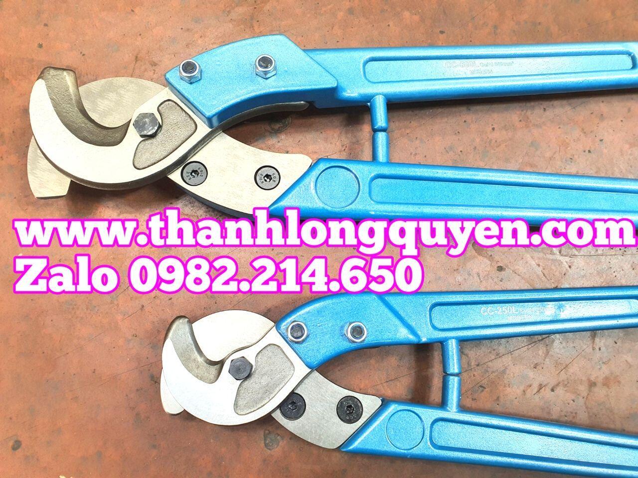 Kìm cắt cáp 250mm2 CC-250L và 500mm2 CC-500L đồng nhôm modern