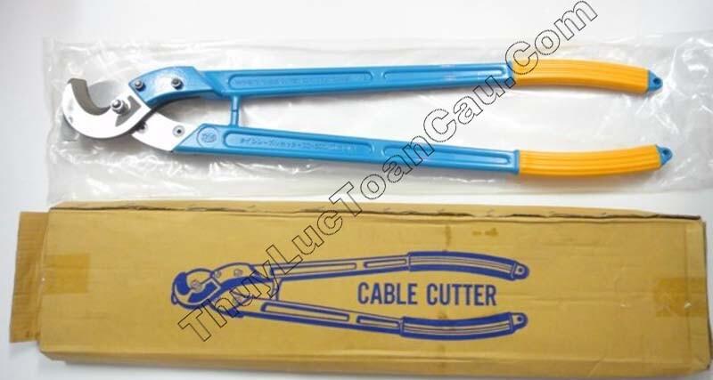 Kéo cắt cáp điện CC-400, Kéo cắt cáp cộng lực CC-400 - Mã cũ màu xanh