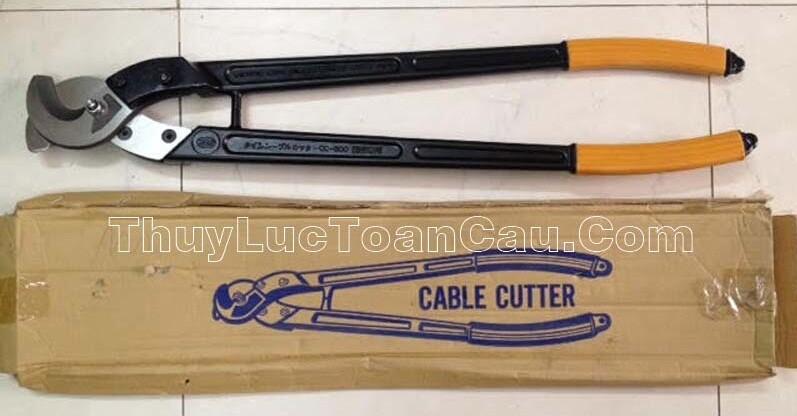 Kìm cắt cáp điện CC-400, Kìm cắt cáp cộng lực CC-400 - Mã mới màu đen