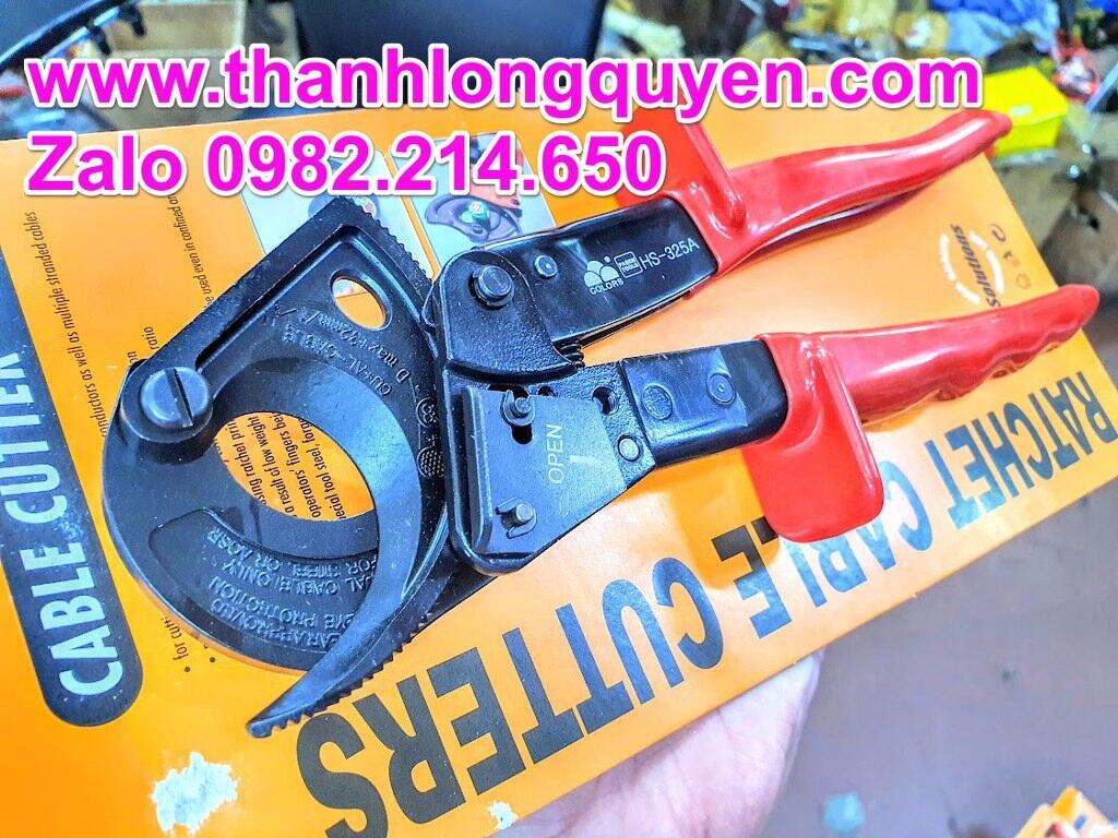 kìm cắt cáp nhông fasen hs-325a đồng nhôm 240mm2