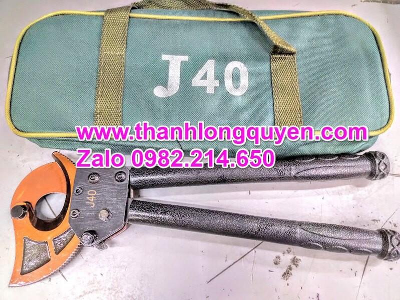 Kìm Cắt Cáp Nhông J40 Và Xlj-D-300 Đồng Nhôm 300mm2