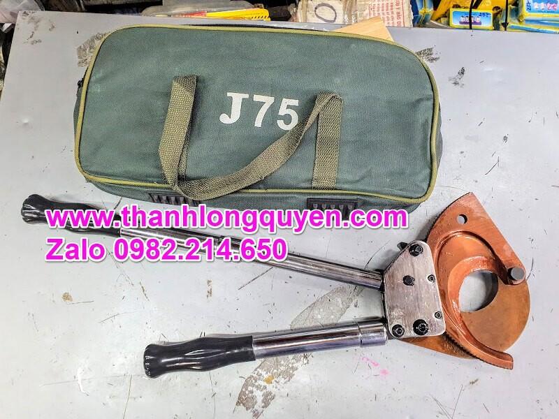 Kìm cắt cáp nhông j75 cắt đồng 3 sợi 120mm2