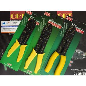 Kìm cắt tuốt dây điện đa năng OPT KH-502, KH-503, KH-504, KH-507