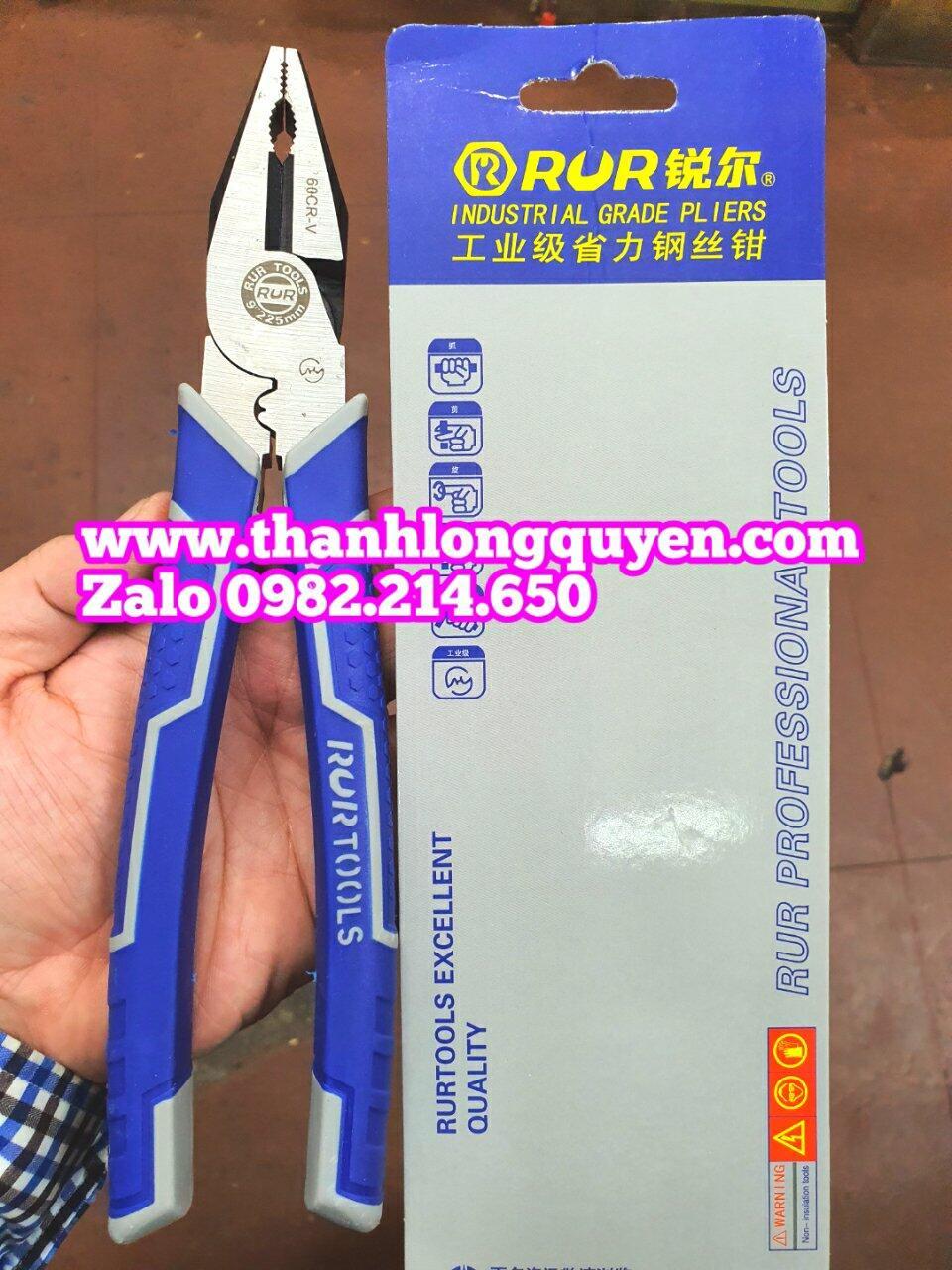 Kìm điện bấm cos 9 inch model R2159 Rur