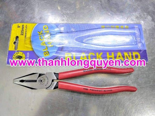 kìm điện black hand bh-398 9 inch