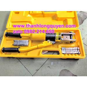 KÌM ÉP COS THỦY LỰC TLP HHY-300E XY LANH 18MM 16-300MM2
