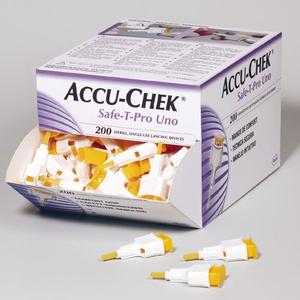 Kim lấy máu Accu-Chek Safe-T-Pro Uno