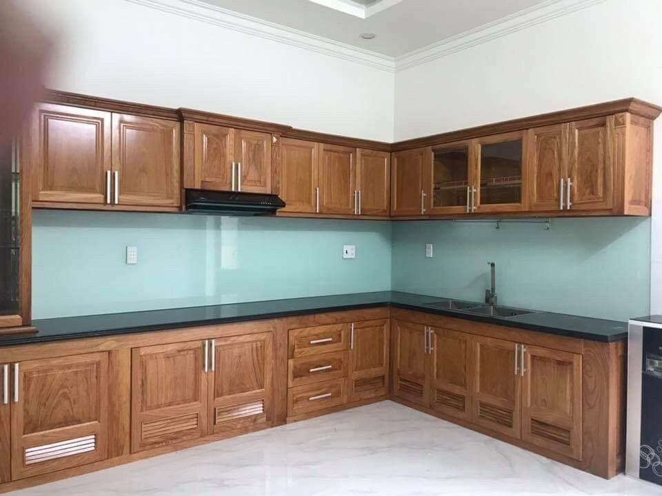 kính ốp bếp, kính màu ốp bếp , kính cương lực ốp bếp
