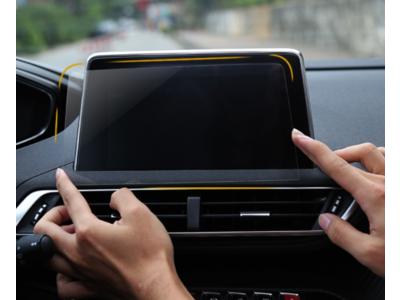 Kính cường lực bảo vệ màn hình xe ô tô Peugeot 3008 All New Peugeot 5008