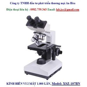 KÍNH HIỂN VI 2 MẮT 1000 LẦN VÀ 1600 LẦN, Model: XSZ-107BN