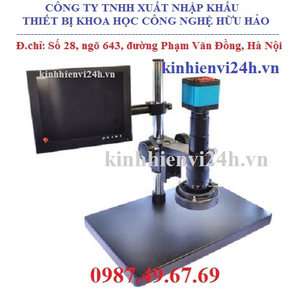 Kính hiển vi kỹ thuật số camera kết nối vi tính, màn hình SM-14MP