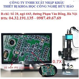 Kính hiển vi soi nổi camera kết nối vi tính, màn hình TV HHM-216