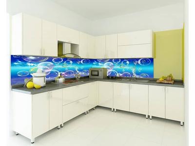 Kính in hoa văn 3d ốp bếp - Kính ốp bếp 3d
