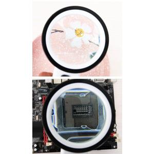 Kính lúp cầm tay có 12 đèn LED 10X- 85mm