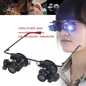 Kính lúp đeo mắt có đèn 20X