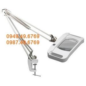 Kính lúp kẹp bàn thân gấp 10X có đèn LT-86G