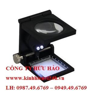 Kính lúp mini 10X có thước đo