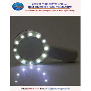 Kính lúp phóng đại 30 lần LED soi đá quý, đọc sách báo