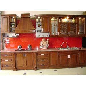 Lắp đặt kính màu trang trí phòng bếp Quận Đống Đa Hà Nội