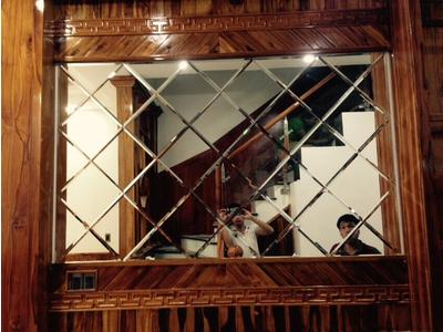 Kính thủy ghép trang tri - Gương ghép trang trí tphcm