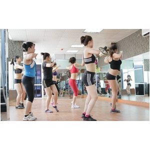 Thi công Kính thủy Gương soi phòng tập Gym Quận Bình Tân Tp HCM