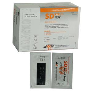 Kit chẩn đoán phát hiện viêm gan siêu vi C SD Bioline HCV