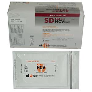 Kit chẩn đoán phát hiện viêm gan siêu vi C SD Bioline HCV (Multi)