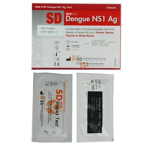 Kit chẩn đoán sốt xuất huyết SD Bioline Dengue NS1 Ag