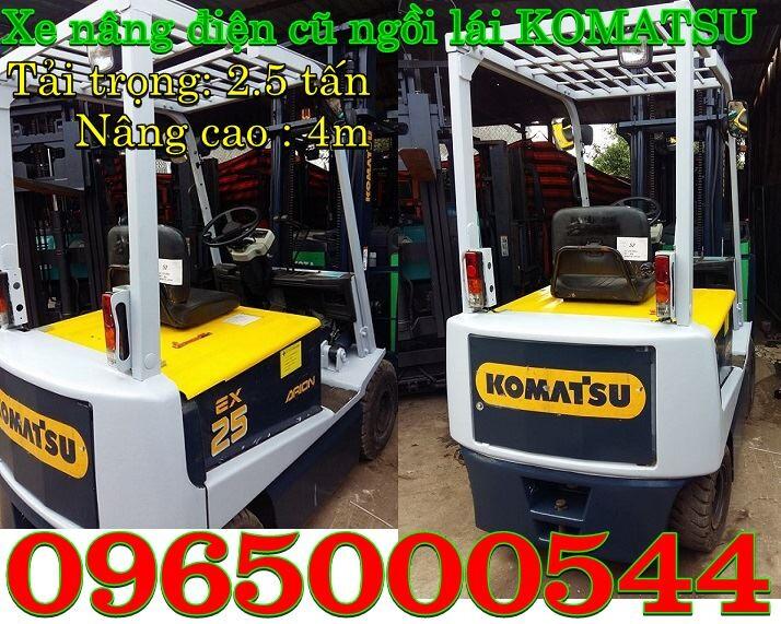 Xe nâng điện cũ 1 tấn, 1.5 tấn, 1.8 tấn, 2 tấn giá rẻ