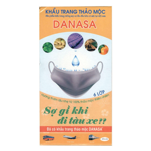 Khẩu trang thảo mộc Danasa