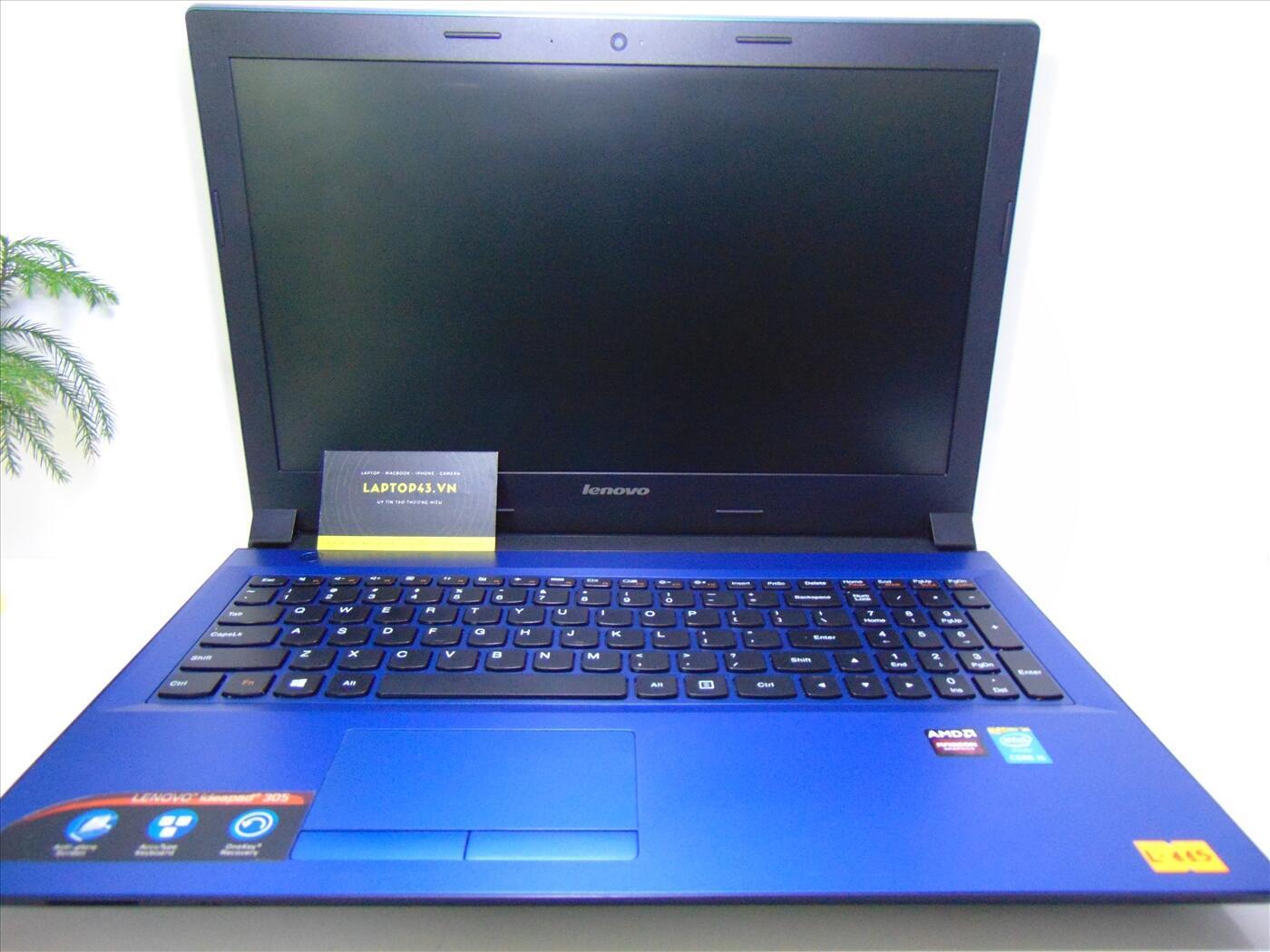 """Lenovo Ideapad 305 Core i5-5200U~2.2GHz Ram 4G HDD 500G 15.6"""" HD+ AMD Radeon R5 M330"""