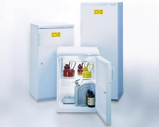 Tủ lạnh lưu mẫu, hóa chất chống cháy nổ