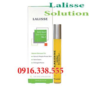 Lalisse Anti-Spot Skin Serum No. 1 đặc trị mụn trong 24h Mỹ phẩm đặc trị mụn trong TH mụn Nhẹ