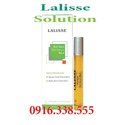 Lalisse Anti-Spot Skin Serum No. 2 Mỹ phẩm đặc trị mụn trong TH mụn Nặng có mủ sưng