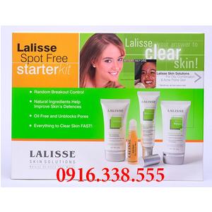 Bộ trị mụn Lalisse skin solutions Điều Trị Mụn Tối Ưu Lalisse Spot-Free Starter Kit (bộ nhỏ)