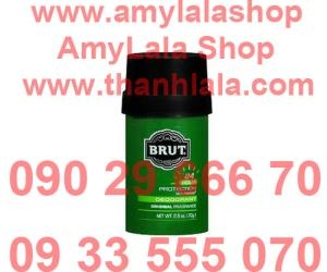 Lăn khử mùi Brut 24 Hour Protection with Trimax® tròn xanh (Made in USA) - 0933555070 - 0902966670 :