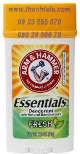 Lăn khử mùi Arm & Hammer Essentials Natural Deodorant (Made in USA) - 0933555070 - 0902966670 :